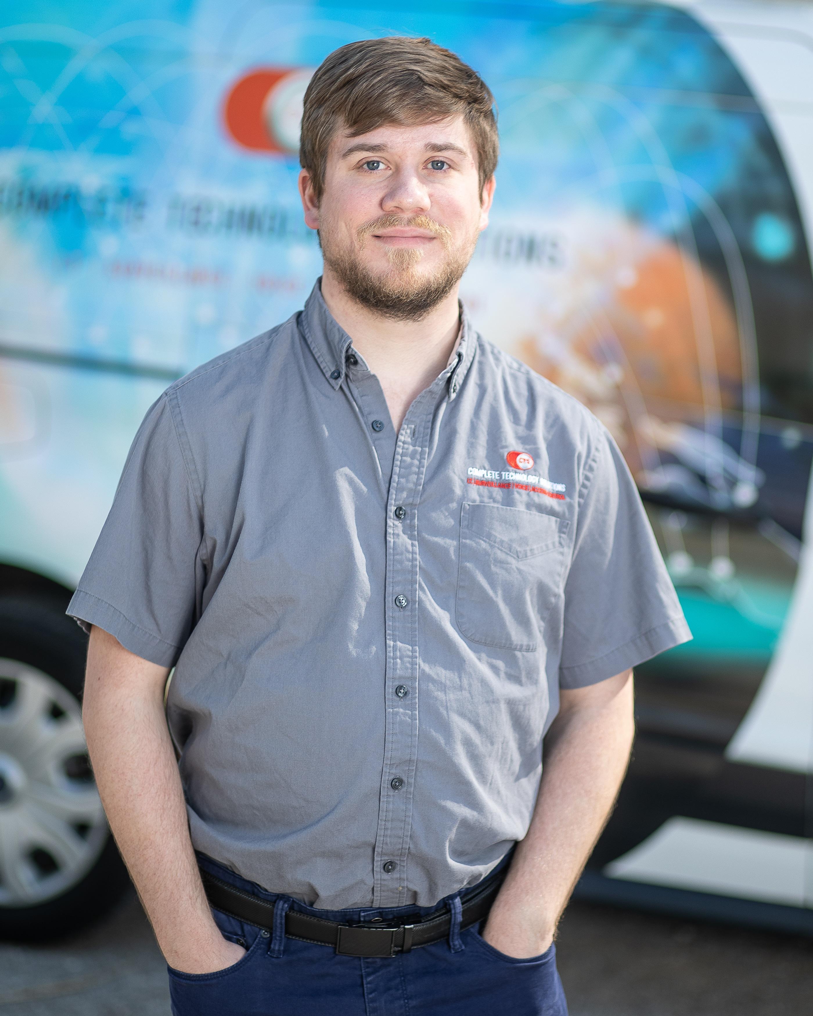Chris Biondi, CTS Field Technician